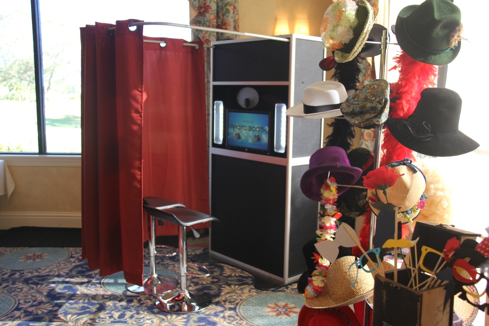 Photo Booth Setup - Venice, Sarasota Photo Booth