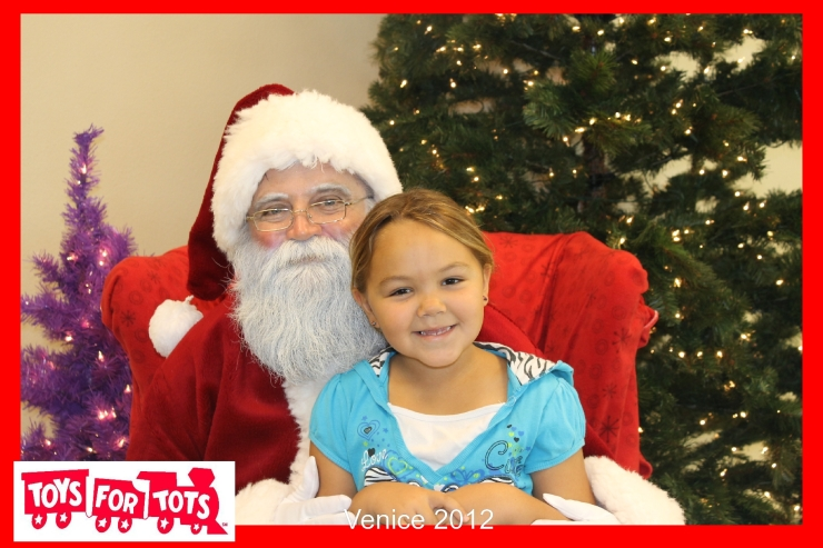 Santa Claus with Venice Photo Booth