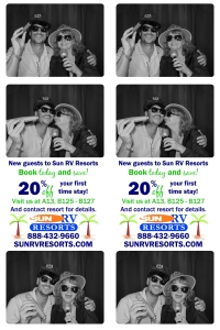 106367-double strip with logos 3pic text middle