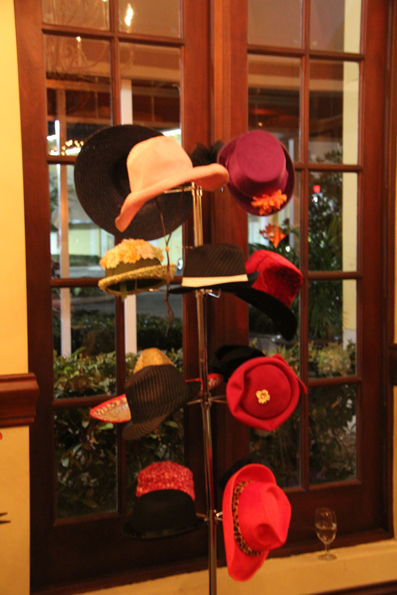 Venice Photobooth Hat Rack