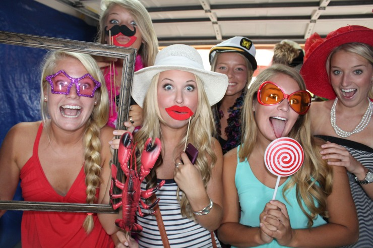 Photobooth rental for graduation party