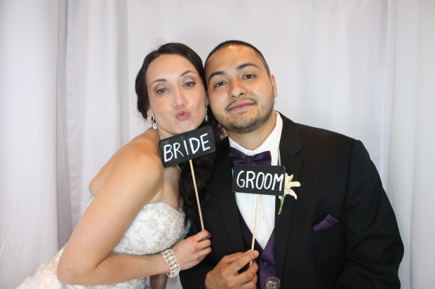 Bride and Groom in Venice Photobooth101065