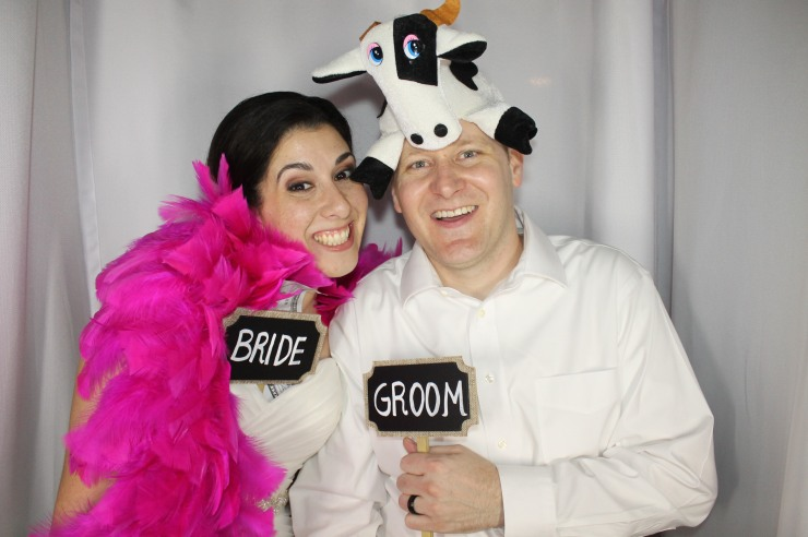 Venice Photo Booth Bride and Groom