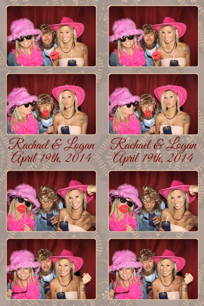 Venice Photo Booth picture pink