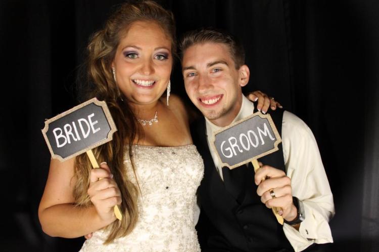 Photobooth Bride & GRoom