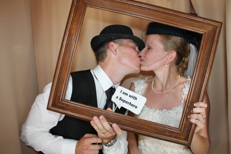 Bride & Groom in Venice Photo Booth