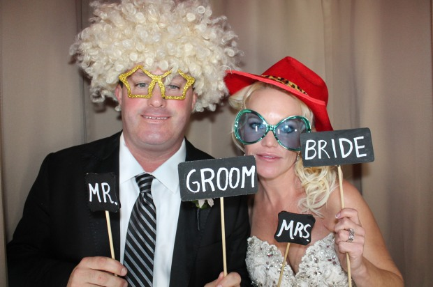 Venice PhotoBooth Bride & Groom