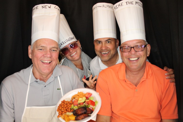 Photo Booth North Port, with chefs