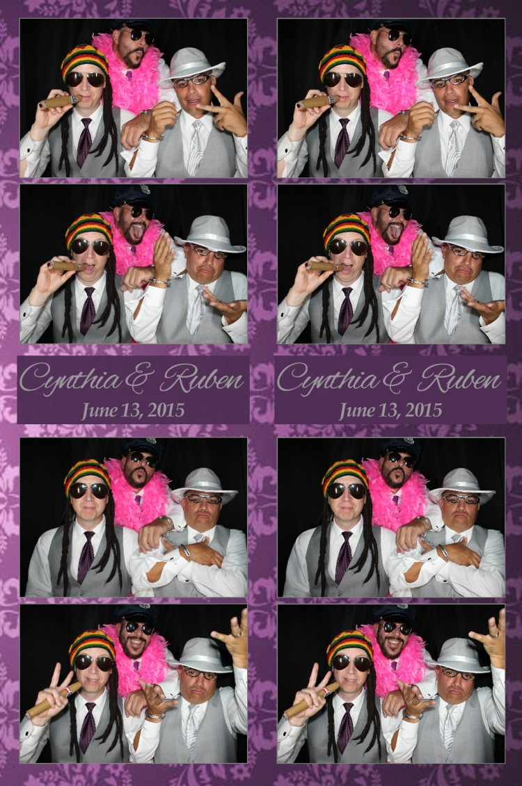 Groomsmen in VenicePhotoBooth