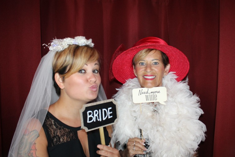 Bride in Venice Photo Booth