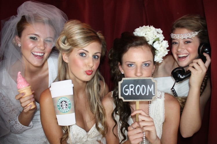 Models in Photo Booth
