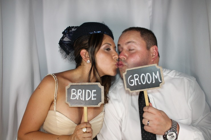 Bride & Groom in Venice Photo Booth