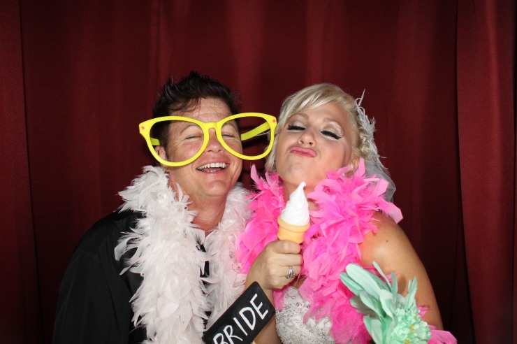 brides in the Photo Booth